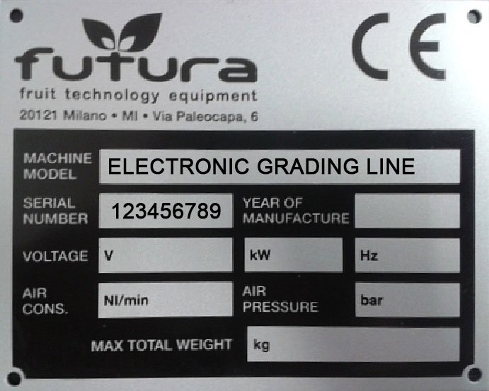 Customer support FUTURA grading equipments