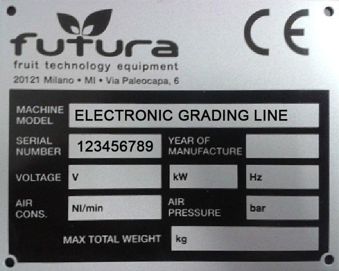 Customer support FUTURA grading equipments